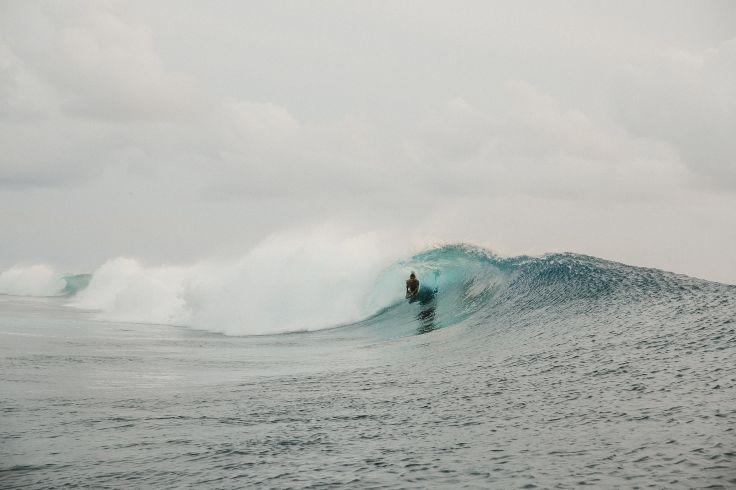 Teahupoo - Tahiti - Polynésie